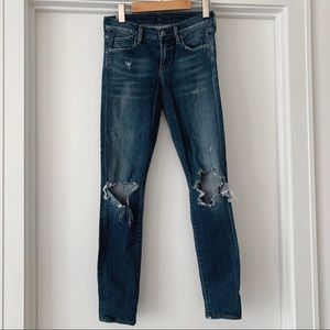 Citizens of Humanity Ripped Avedon Jeans - Size 25